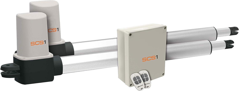 SCS Sentinel SCS1 Standard - Kit de motorización para puerta oscilante, 24 V: Amazon.es: Bricolaje y herramientas
