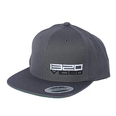 b5c7c8c3 1320Video Dark Gray Snapback Hat (Dark Gray) at Amazon Men's Clothing store: