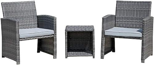 OC Orange-Casual Outdoor Furniture Set PE Patio Porch Chairs