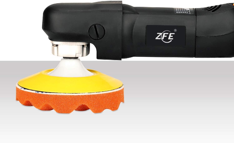 "Polishing Pads, ZFE 6Pcs 6""(150mm) Waffle Foam Buffing Pads Polishing Pads Wool Pad Kit for RO/DA Car Polisher Boat Polishing: Home Improvement"