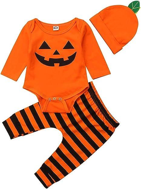 Amazon.com: Disfraz de calabaza para Halloween, para bebé ...