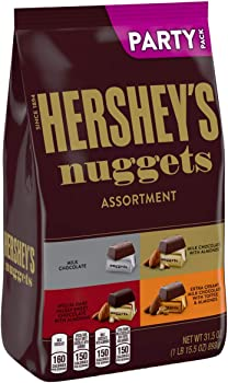 Hershey's Nuggets Halloween Candy Assorted Chocolates 1lb Bag