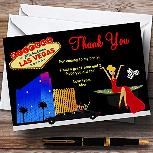 Amazon.com : Casino Las Vegas Personalized Birthday Party ...