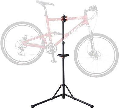 Homcom ciclo bicicleta plegable bicicleta Reparación soporte ...
