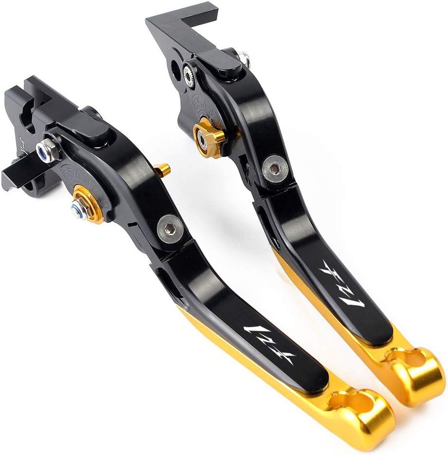 Motorrad Falten ausziehbare Bremse Kupplungshebel Bremskupplungshebel CNC Aluminum passend f/ür Yamaha FZ1 FAZER 2001-2005 2006-2015