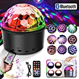 Disco Ball Light Bluetooth Speaker DJ Party Light 9 Colours 9W Disco Ball