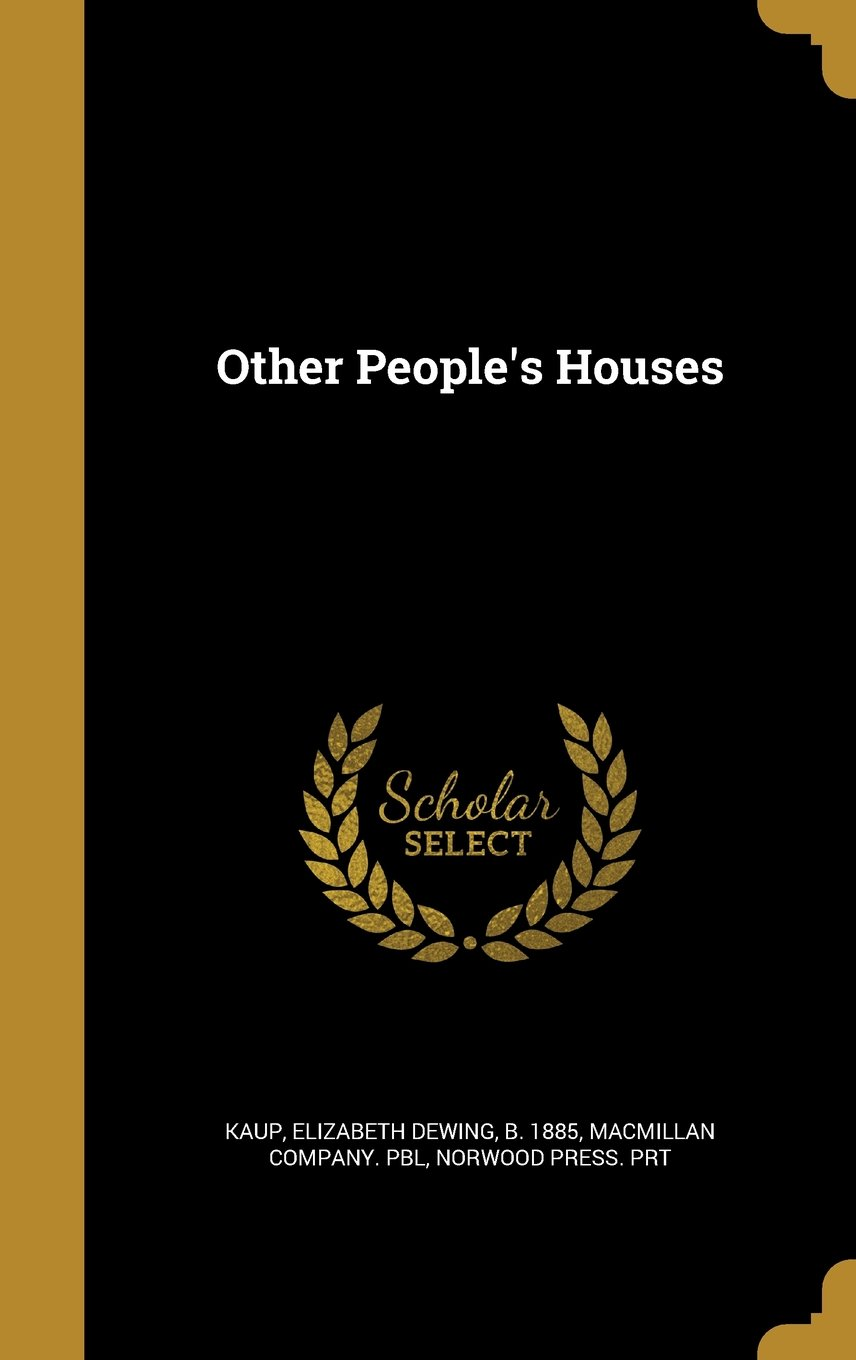 Other People's Houses pdf