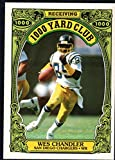 Football NFL 1986 Topps 1000 Yard Club #13 Wes Chandler NM-MT Chargers