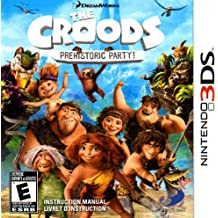 The Croods - Prehistoric Party 3DS Instruction Booklet (Nintendo 3DS Manual ONLY - NO GAME) Pamphlet - NO GAME INCLUDED