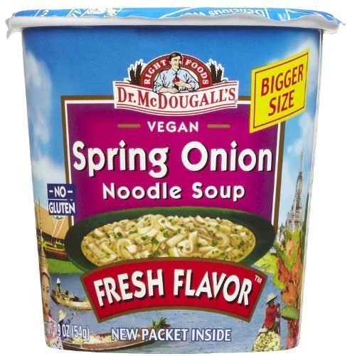 Spring Onion Noodle - Dr. McDougall's Vegan Spring Onion Noodle Soup- 1.9 oz, 6 pk by Dr. McDougall's