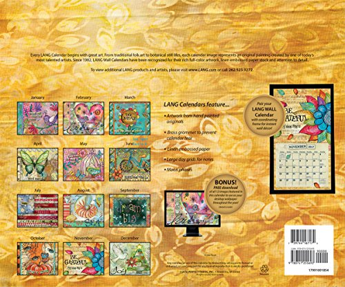 Lang 2017 Color My World Wall Calendar, 13.375 x 24 inches (17991001854)