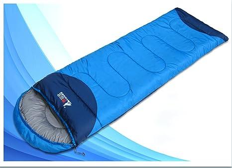 Saco de Dormir para Adultos cálido Saco de Dormir para Acampar al Aire Libre Saco de