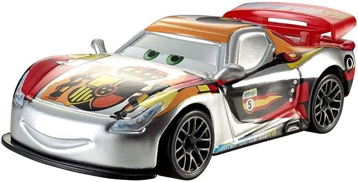 Cars 2 - Silver Miguel Camino, Coche de Juguete (Mattel BBN20): Amazon.es: Juguetes y juegos