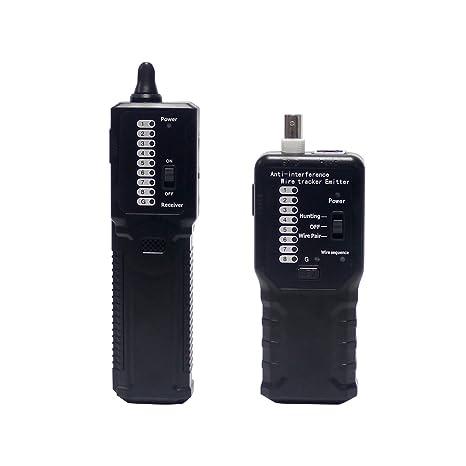 wisamic Wire Tracker para comprobar STP UTP Cable de red cartografía, teléfono cable coaxial RJ45
