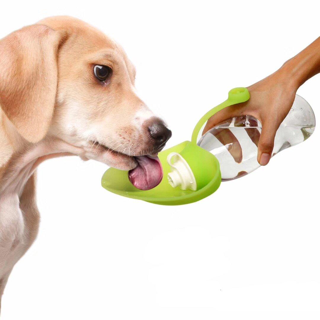Botella de Agua para Mascotas al Aire Libre de Viaje 600ML / 20 oz -Botella Reversible y Ligera de Silicona para Perros y Gatos -Gris: Amazon.es: Productos ...