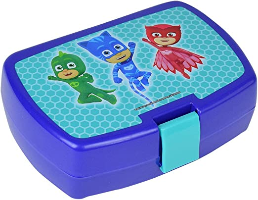 Fun House 005565 pyjamasques Caja merienda para niños ...