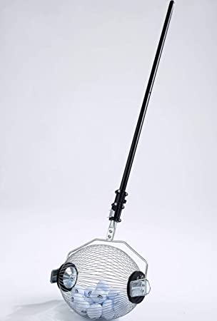 Kollectaball Pro Collector | Recogedor para 80 pelotas de Golf | Recogedor de pelotas de golf a distancia | Recoge pelotas de golf de lagos: Amazon.es: ...