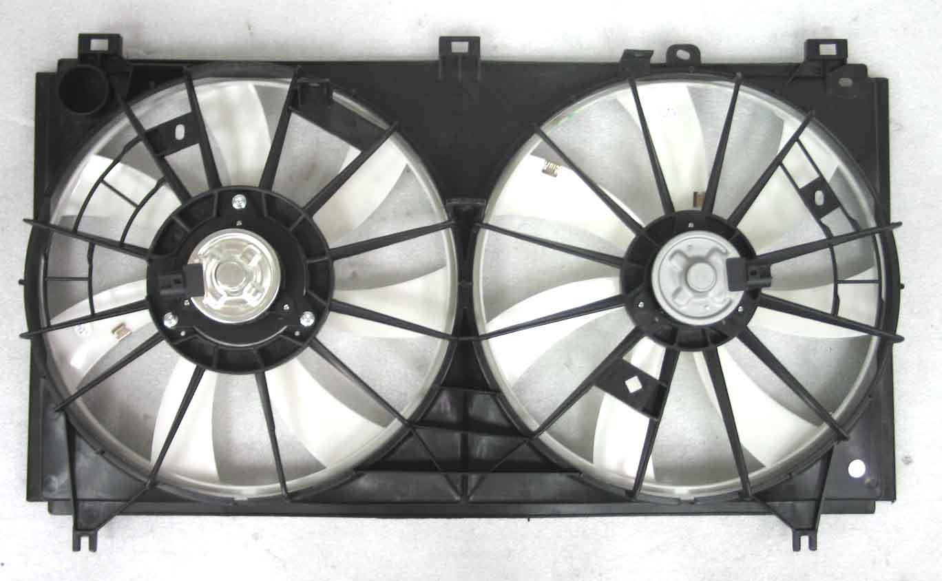 Depo 324-55010-000 Dual Fan Assembly