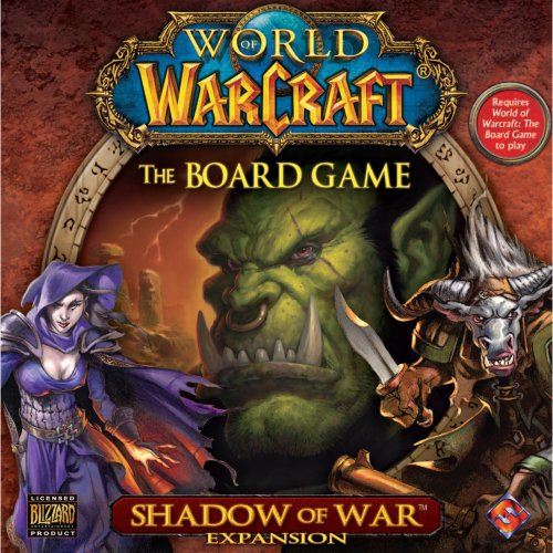 world of warcraft the board game shadow of war expansion - 1
