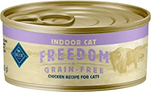 Blue Buffalo Freedom Grain Free Natural Adult Pate Wet Cat Food