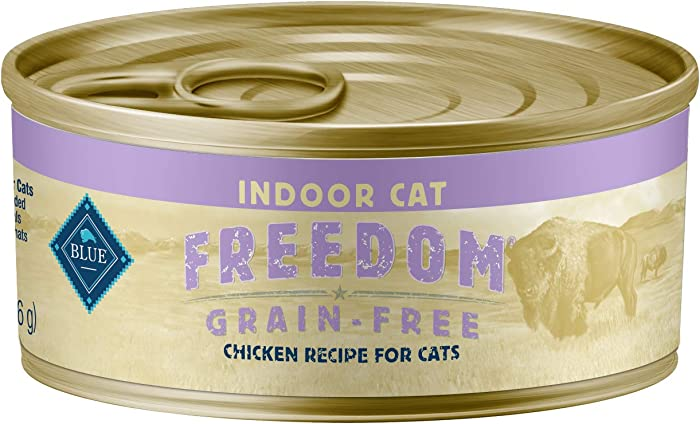 Top 9 Blue Freedom Indoor Wet Cat Food
