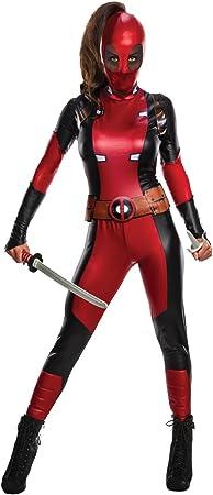 Marvel Deadpool disfraz de mujer. - Multi - XS: Amazon.es ...