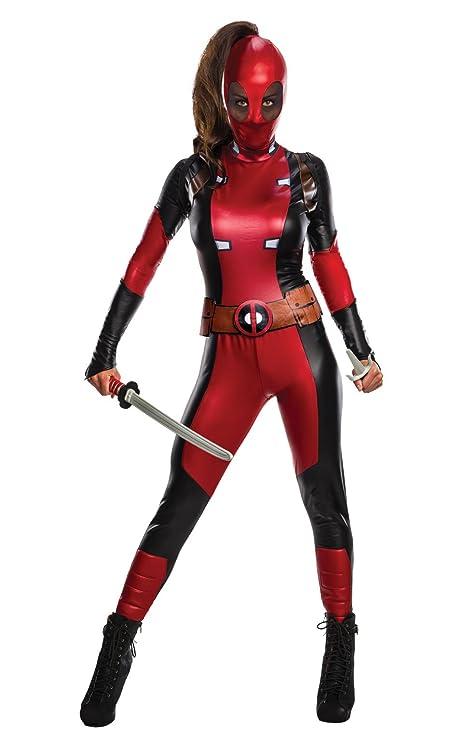 Rubies 810984S - Disfraz de Deadpool para Mujer, Multicolor