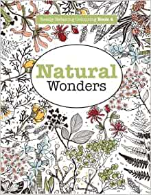 Amazon Really RELAXING Colouring Book 4 Natural