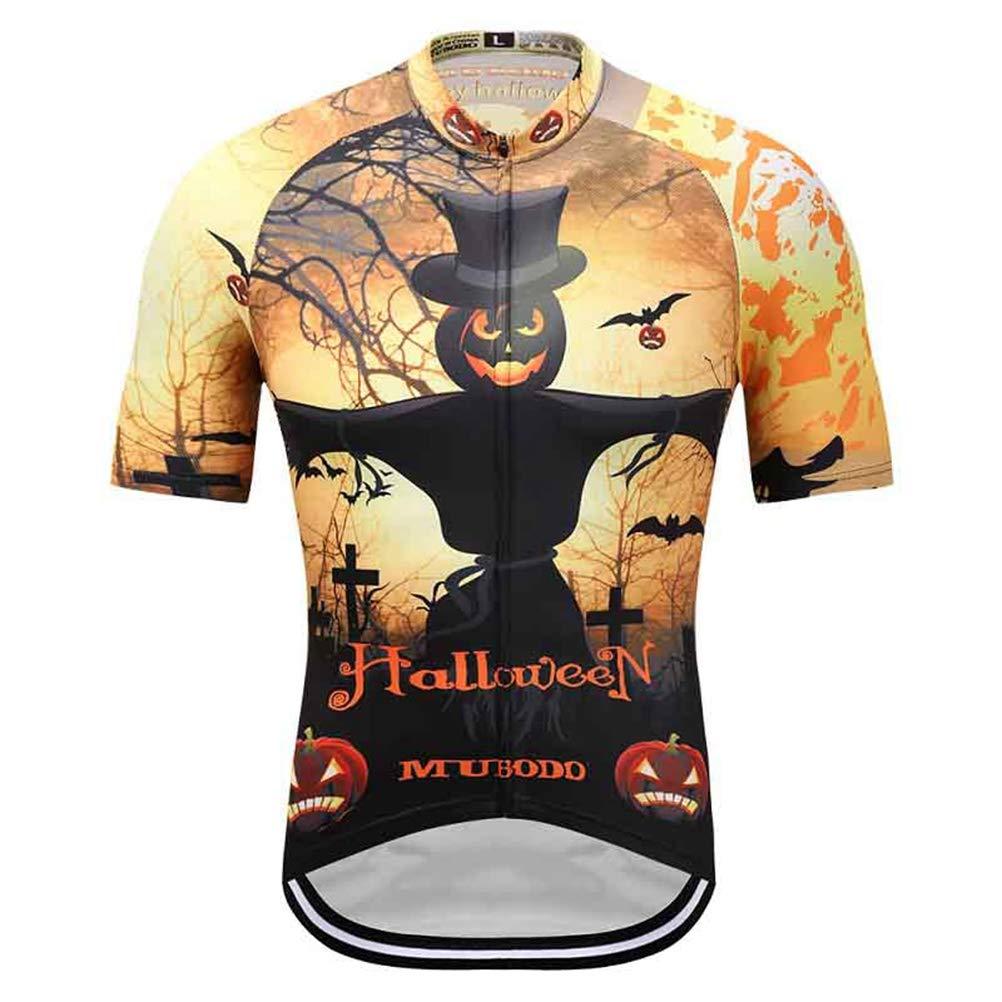 Ciclismo Jersey Traje para Unisex, Estilo de Halloween de ...