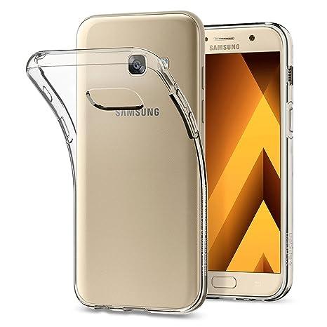 Spigen Coque Samsung Galaxy A3 2017,  Liquid Crystal  Ultra Mince Silicone  Souple   08f5d8a1f4f5