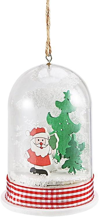 LEDMOMO LED Santa Claus árbol de Navidad adornos para mesa centro de mesa de Navidad ventana Showcase hogar fiesta decoración niños regalo: Amazon.es: Iluminación