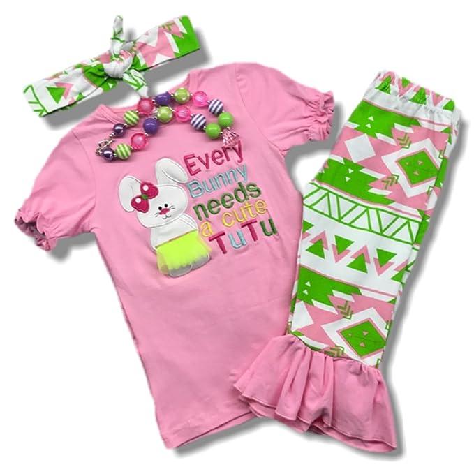 Amazon.com: Cute Kids ropa para niña/niñas traje de conejo ...