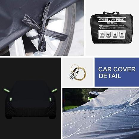 Mercedes-Benz S63 Amg Sedan 6 Layer Waterproof Car Cover 2008 2009