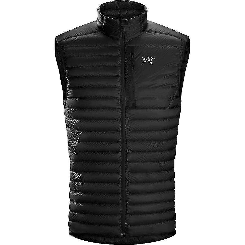 アークテリクス アウター ジャケットブルゾン Arcteryx Men's Cerium SL Vest Black [並行輸入品] B078VQ249V  Large