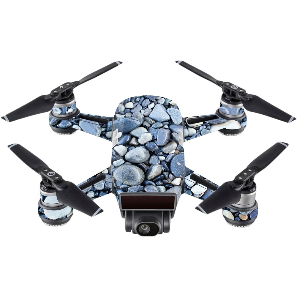 MightySkins スキンデカールラップ DJIステッカー保護カバー 100種類のカラーオプションに対応, DJI Mavic 2 Pro or Zoom, DJMAVPR18-Black Diamond Plate B073JR5PJX DJI Spark Mini|Rocks Rocks DJI Spark Mini
