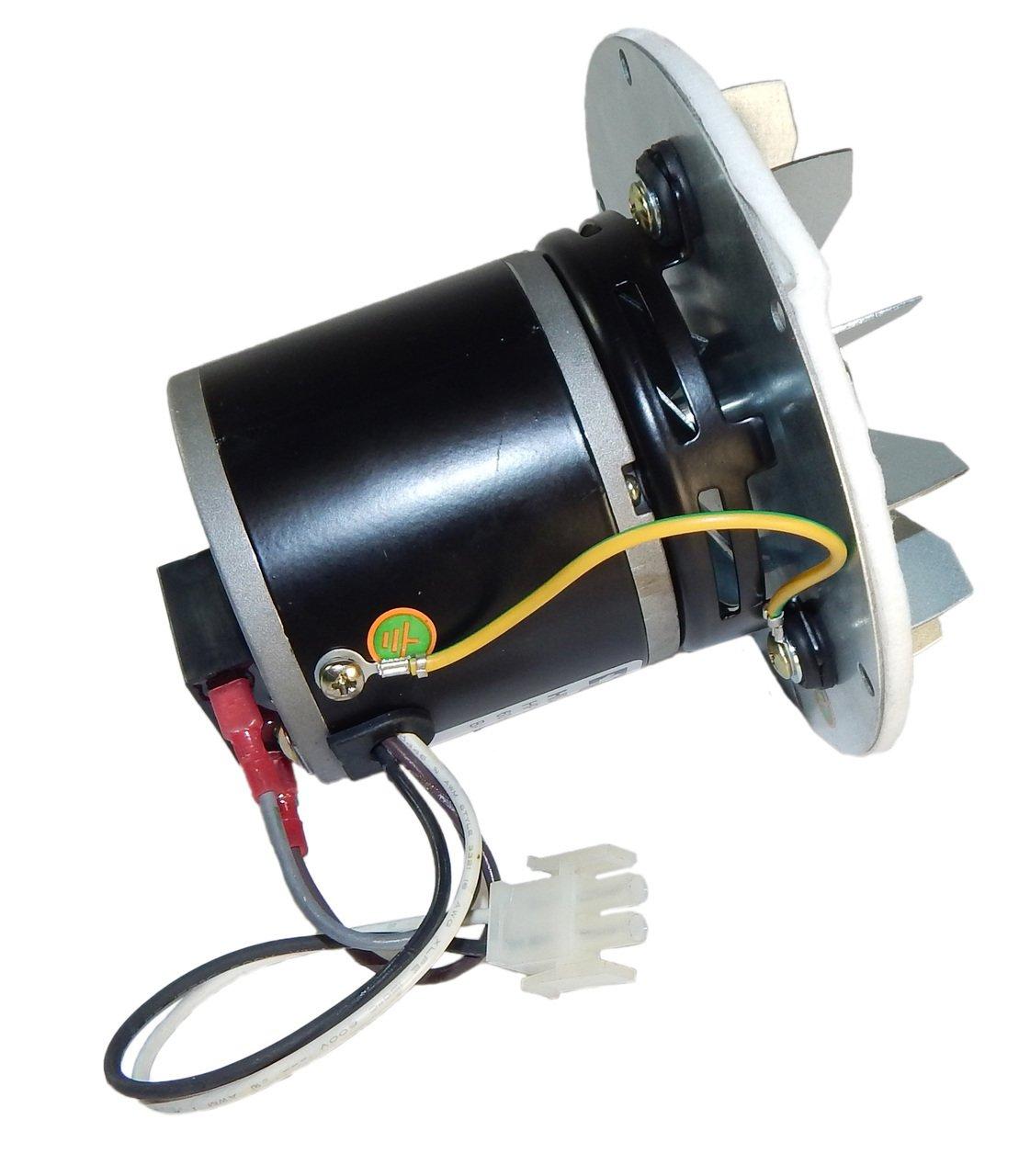 Pellet Stove Blower Motor, 1/14hp, 3000RPM, 0.6 amps. 115 Volt ...