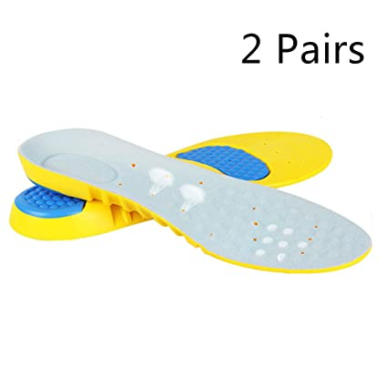Orthotic Memory Foam Arch Support Shoe Insoles Inserts Pads Cushion Pain Relief