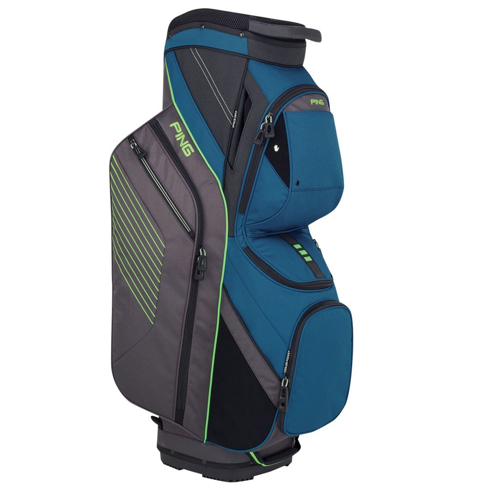 Ping 2018トラバース164カートゴルフバッグ16 Dark Teal / Graphite / ElectricGreen B078XL5CY5