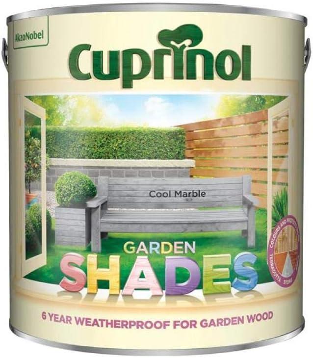 Cuprinol 5316989 Garden Shades Exterior Woodcare, Cool Marble