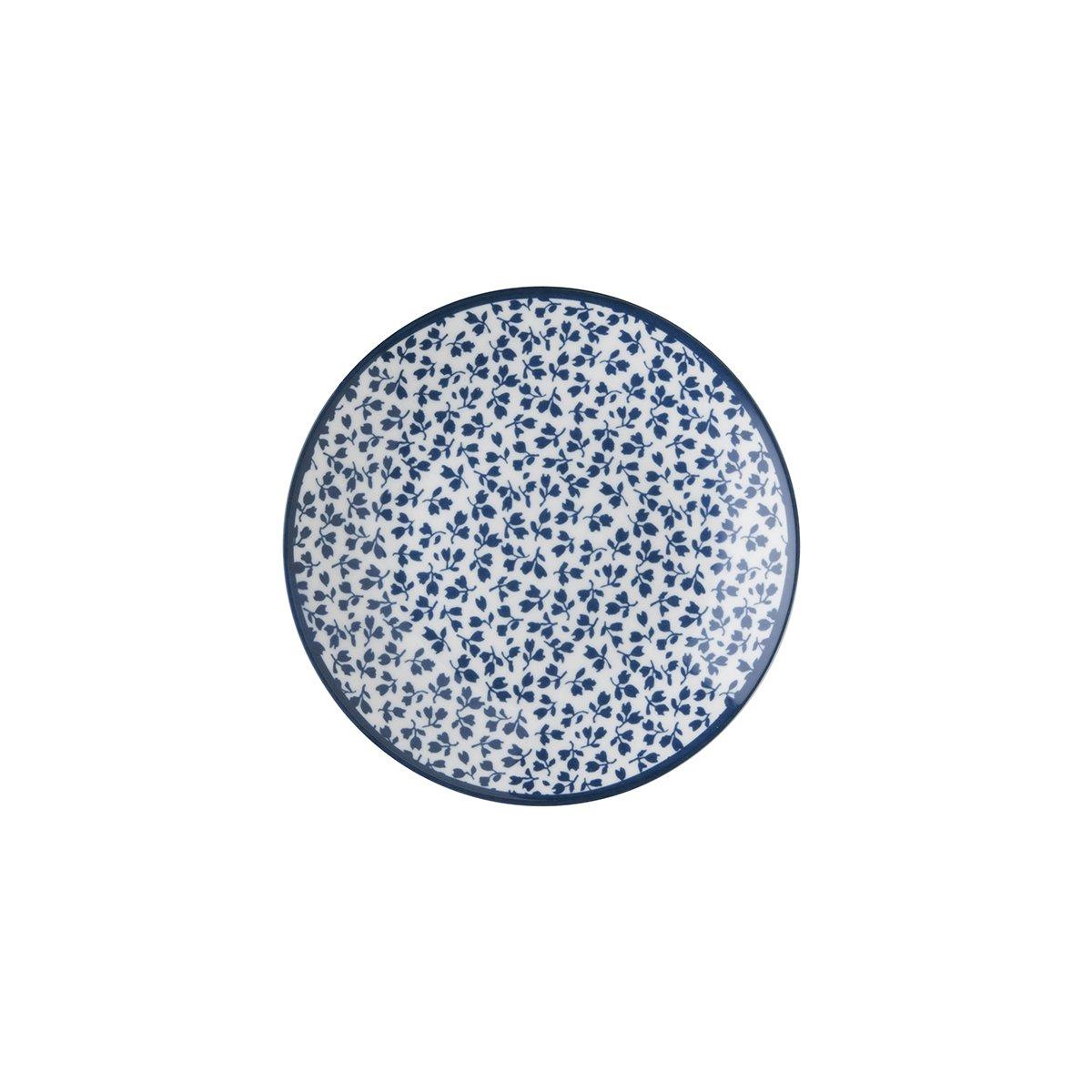 Laura Ashley Floris LAURA ASHLEY W178274 12 cm dise/ño de flores Plato de porcelana