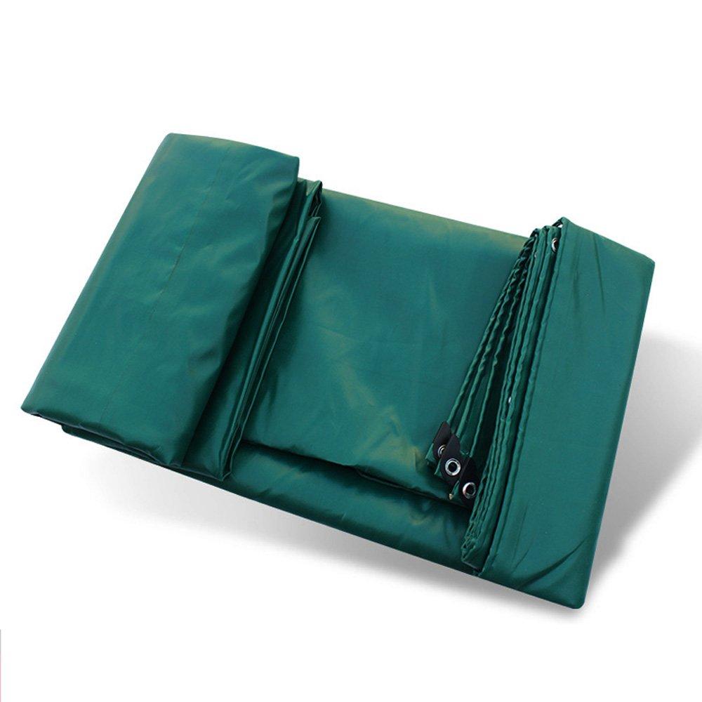 CAOYU Plane, regendichtes Sonnenschutz Zelt Tuch LKW Schuppen Tuch PVC-Beschichtetes Band Hochtemperatur-Anti-Aging, dunkelgrün