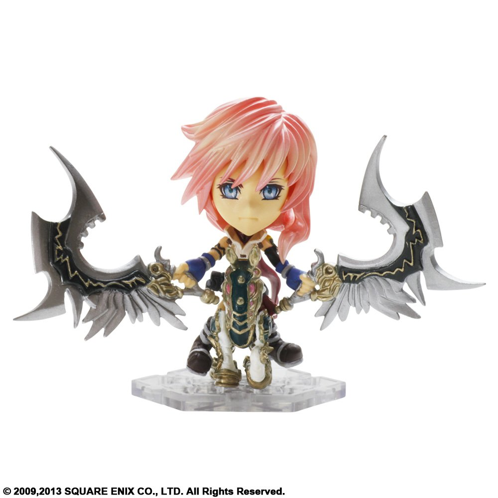 Final Fantasy - Figura Trading Arts Mini Kai Número 6: Lightning
