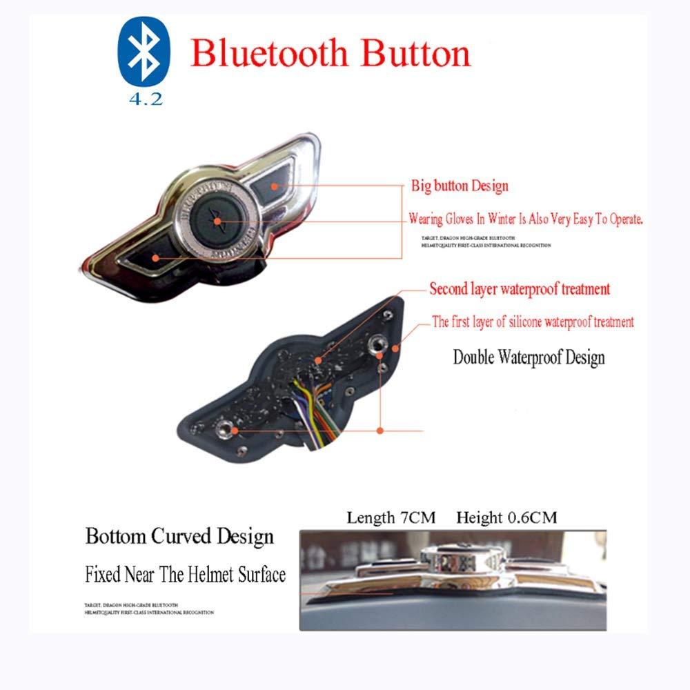 Helmet Casco Modular de Casco Bluetooth para Motocicleta D.O.T ...