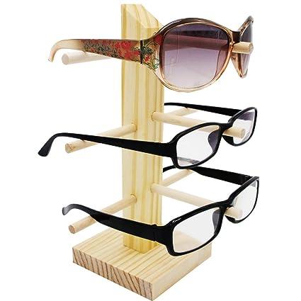ZZ Cordura madera expositor de gafas de sol Marco de soporte ...