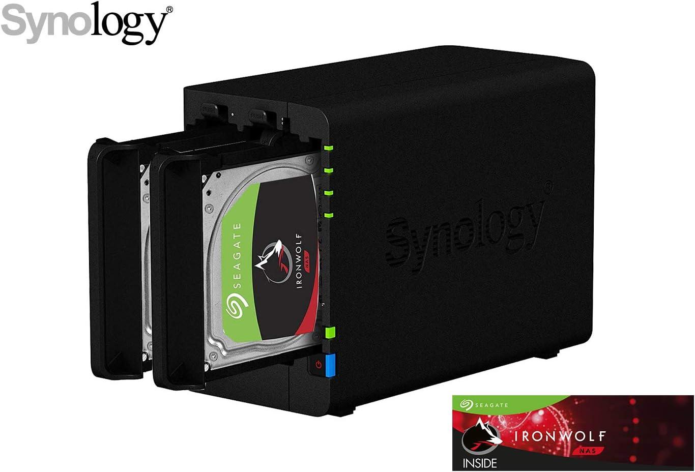 Synology Ds218 6 Gb Nas 32 Tb Ironwolf Computer Zubehör