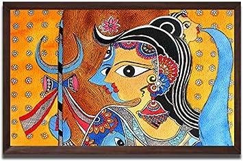 Samriddhi Copy Natural Color Painting Of Madhunani Mithila Painting