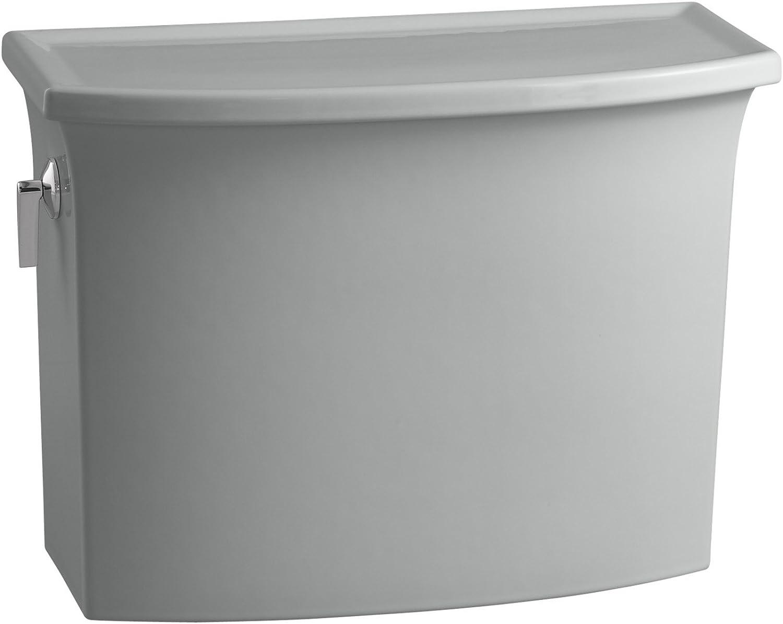 Kohler K-4431-95 Archer 1.28 gpf Toilet Tank, Ice Grey