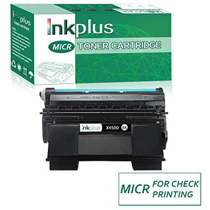 Amazon com: InkPlus MICR 4500 Check Printing Toner