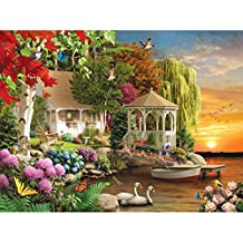 "Bits and Pieces - Heaven On Earth 1000 Piece Jigsaw Puzzles for Adults - Each Puzzle Measures 20"" X 27"" - 1000 pc Jigsaws by Artist Alan Giana"