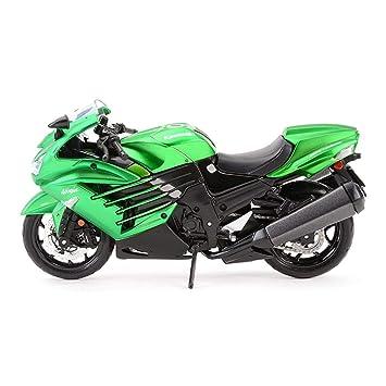 Maisto MoMo Motocicleta del Juguete Modelo ZX-14R Ninja ...